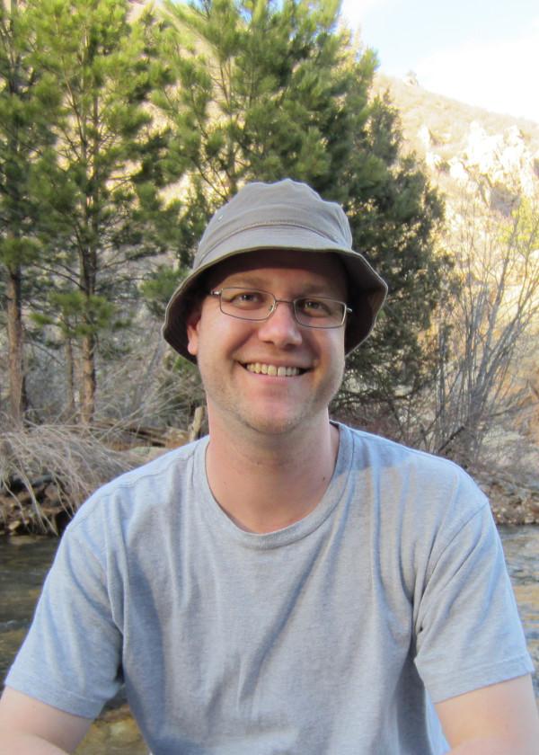 Elliott Forney at Poudre River